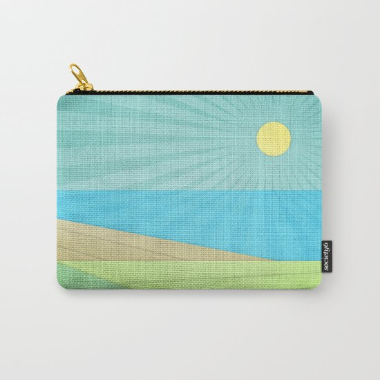 I Can See The Beach Carry-All Pouch