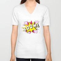 comics V-neck T-shirts featuring comics by mark ashkenazi