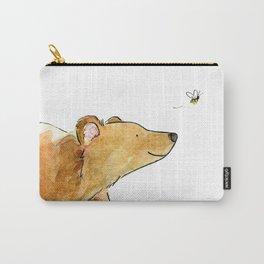 Bear & Bee Watercolor Tasche