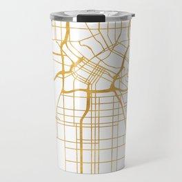 MINNEAPOLIS MINNESOTA CITY STREET MAP ART Travel Mug