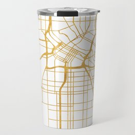 MINNEAPOLIS MINNESOTA CITY STREET MAP ART Travel Mug
