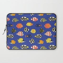 Exotic School Of Reef Fish Laptop Sleeve