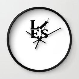 Lies Wall Clock