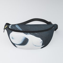 Nude in Black Fanny Pack