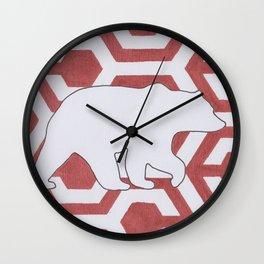 Armor Bear Wall Clock