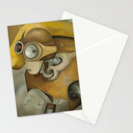 The Miner Stationery Cards