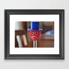 Mr. Bird Framed Art Print