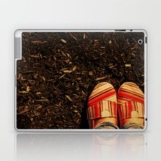 Shoes in the Mulch Laptop & iPad Skin