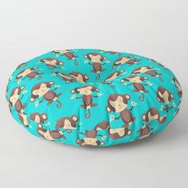 ChimpanZEN Floor Pillow