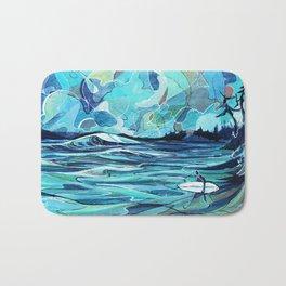 Surf Check Bath Mat