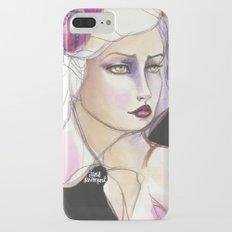 Green Eyed by Jane Davenport iPhone 7 Plus Slim Case