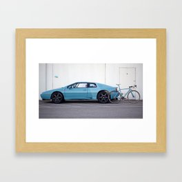 Ritte Lotus Esprit and Ace Framed Art Print