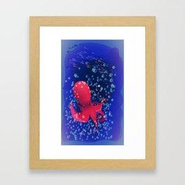 Octopus 1 Framed Art Print