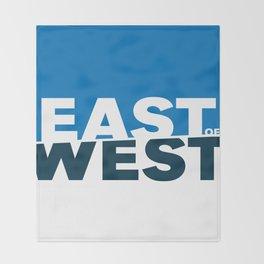 East of West Throw Blanket