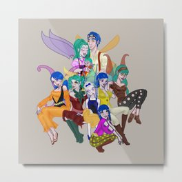 I Do Believe in Fairies Metal Print