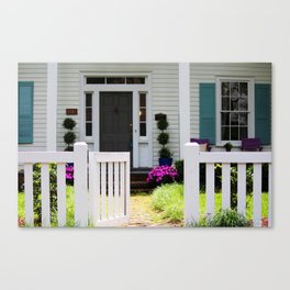 Welcome Gate Canvas Print