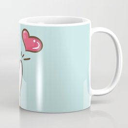 Fatty Catty saying HI Coffee Mug