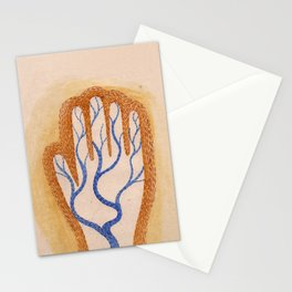River Hand Stationery Cards