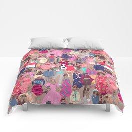 Retro Cature - sienna Comforters