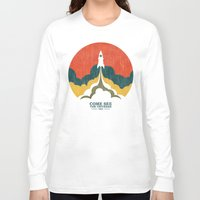 universe Long Sleeve T-shirts featuring Come See The Universe by Picomodi
