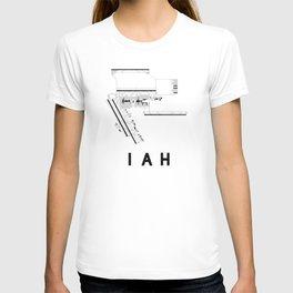 IAH Airport Diagram T-shirt