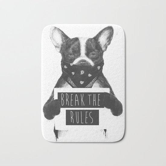 Rebel dog Bath Mat