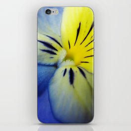Flower Blue Yellow iPhone Skin