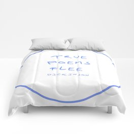 Dickinson poetry- true poems flee Comforters