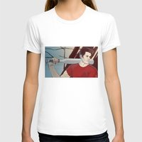 stiles stilinski T-shirts featuring stiles by kala