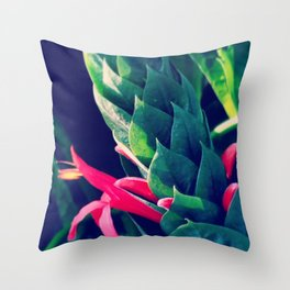 Sharp Edges Throw Pillow