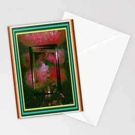 Vintage Paintig Abstract  Stationery Cards