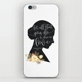 Let All That You Do iPhone Skin
