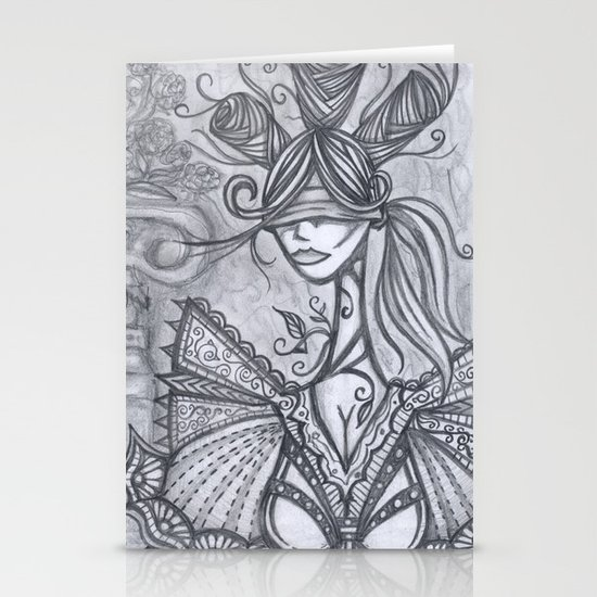 Blind Sensibility (Sketch) Stationery Cards