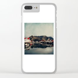 mountain life Clear iPhone Case