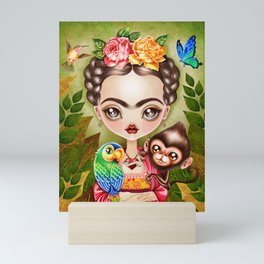 Frida Querida Mini Art Print