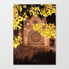Midnight Blossoms Canvas Print