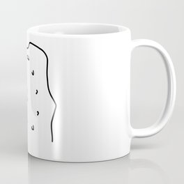 climb climbing hall boulder Coffee Mug