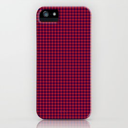 Hamilton Tartan iPhone Case