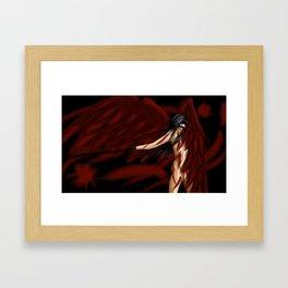 Angel in Bondage Framed Art Print