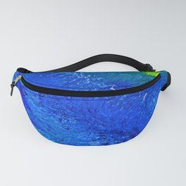 """""""Riptide #4"""" Oil Painting Fanny Pack"""