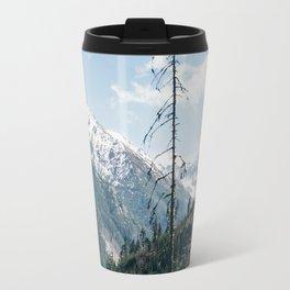 Mountains and Forest Landscape Travel Mug