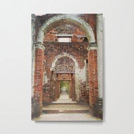 Mansion Hallway Metal Print