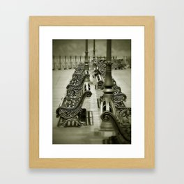 Past Times Framed Art Print