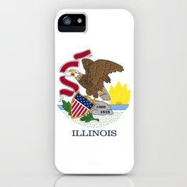 Flag of Illinois iPhone Case