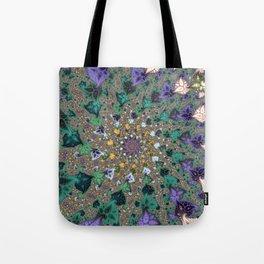 Fractal Paisleys Tote Bag