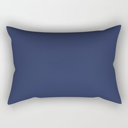 Navy Rectangular Pillow
