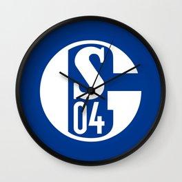 Schalke 04 Wall Clock