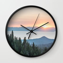 The Wilderness Wall Clock