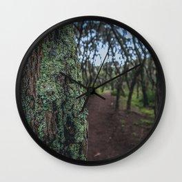 Mossy Trees Wall Clock