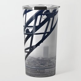 metal & fog Travel Mug